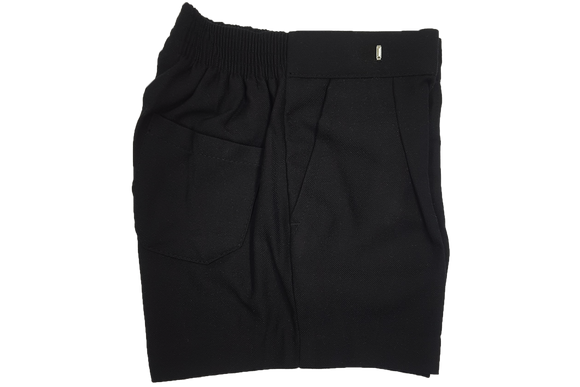 School Shorts - Black