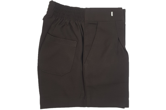 School Shorts - Brown