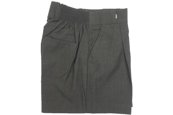 School Shorts - Grey