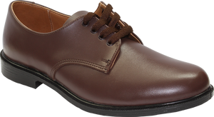 Toughees Hank Lace Up School Shoes - Brown