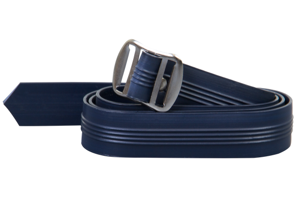 Navy Plastic Belt