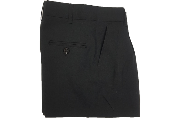 Black Beltloop Trouser