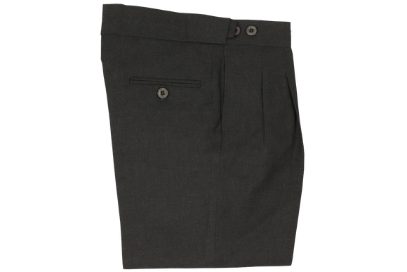 Extension Waistband Trouser - Grey