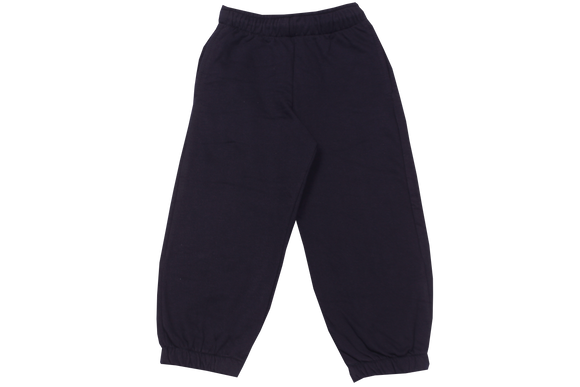 Tracksuit Pants Plain Fleece - Navy