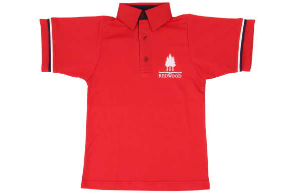 Golf Shirt Moisture Management EMB - Redwood College (Gents)