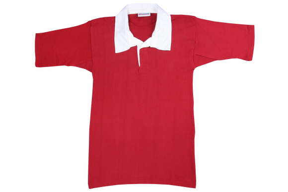 Shortsleeve Rugby Jersey - Scarlet