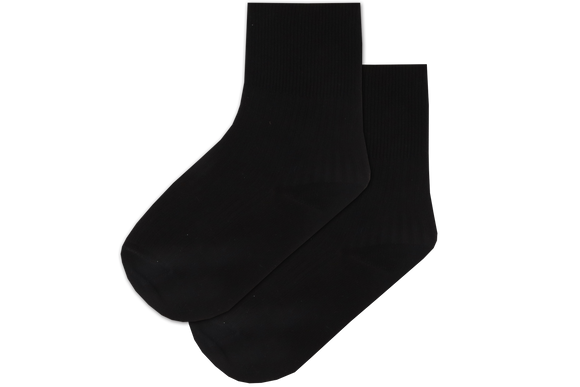 Girls Anklets Socks - Black