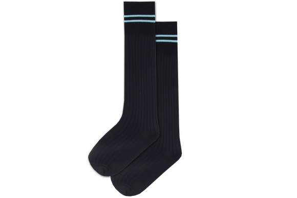 Boys 3/4 Striped Long Socks - Lyndhurst