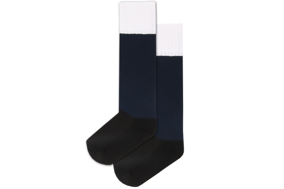 Rugby Socks Nylon - Durban Girls High Navy/White