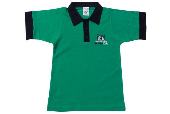 Golf Shirt Jade EMB - Wonderkids Primary