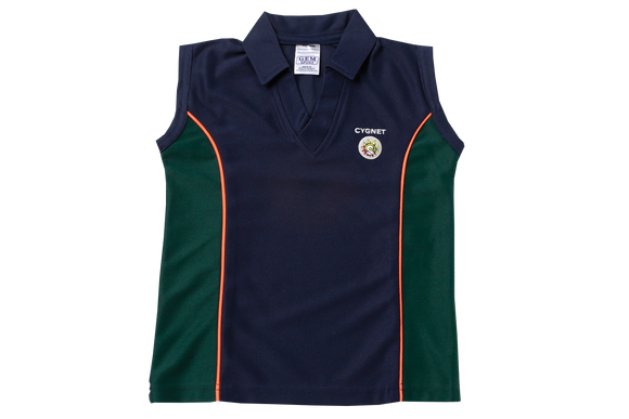 Golf Shirt Moisture Management Emb - Cygnet (Girls)