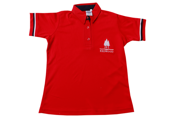 Golf Shirt Moisture Management EMB - Redwood College (Ladies)