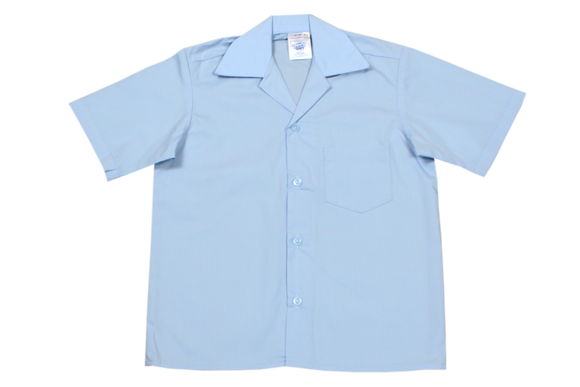 Shortsleeve Gladneck Shirt - Blue