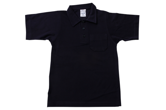 Golf Shirt Plain - Navy