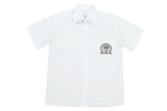 Shortsleeve Plain Emb Shirt - Glenashley