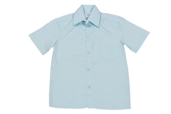 Shortsleeve Raised Collar Shirt - Khombind