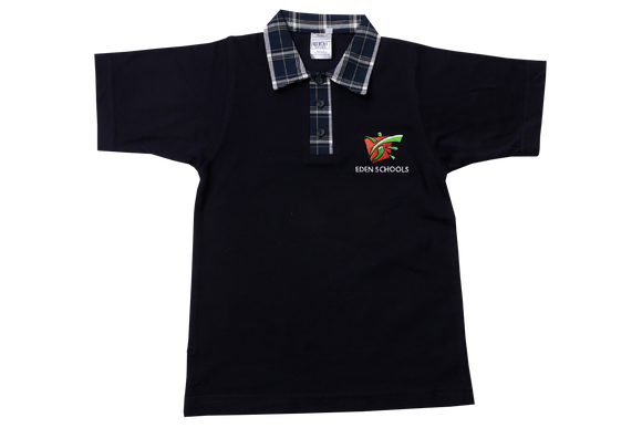 Golf Shirt Navy EMB - Eden Prep