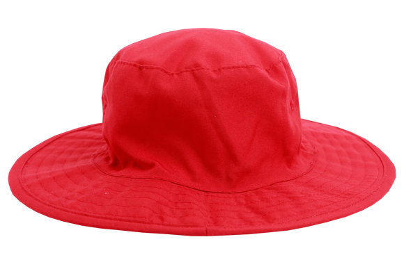Floppy Hat Plain - Red