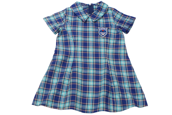 Tartan Emb Dress - Reservoirhills