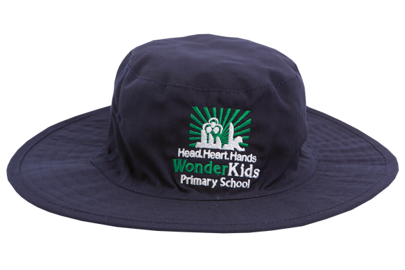 Floppy Hat Navy Emb - Wonderkids Primary