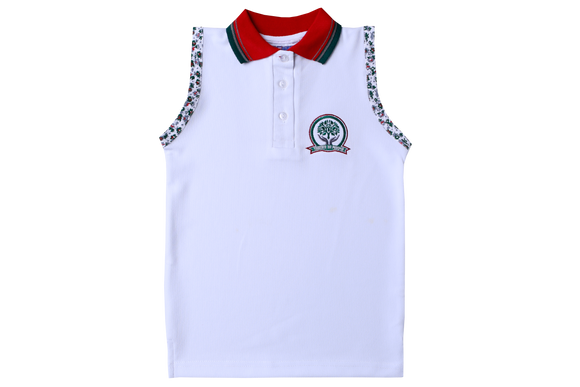 Golf Shirt Moisture Management EMB - Glenashley Girls Senior