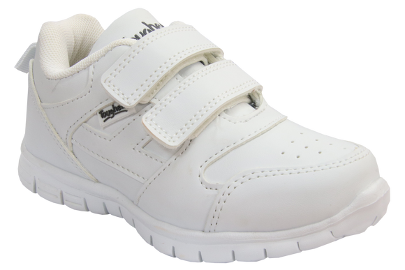 Toughees Elana Velcro Takkies - White (Discontinued / Limited Stocks)