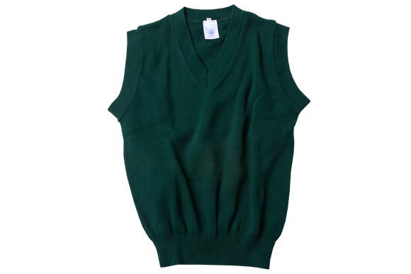 Sleeveless Pullover - Bottle