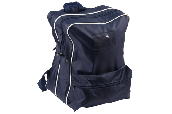 Navy/White Senior Backpack Bag