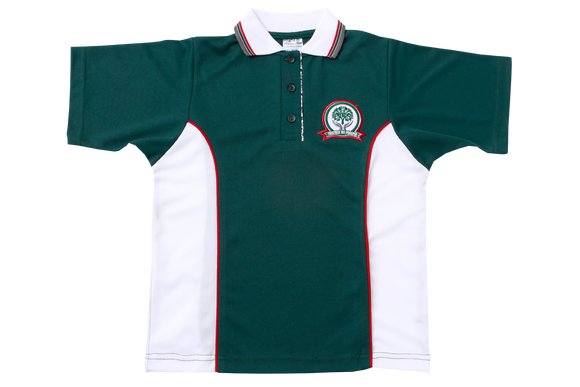 Golf Shirt Moisture Management EMB - Glenashley Girls Junior