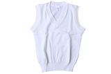 Sleeveless Pullover - White