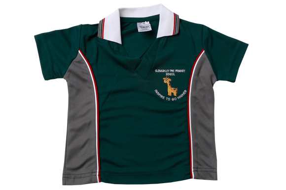 Golf Shirt Moisture Management EMB - Glenashley Pre-school