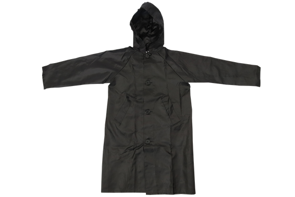 Raincoat Nylon - Black