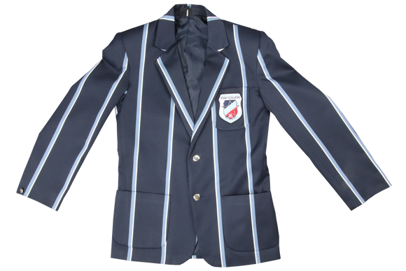 Gents Striped Emb Blazer - Star College