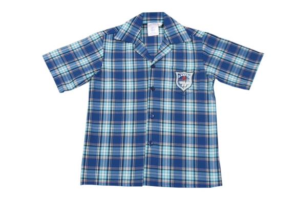 Shortsleeve Check Emb Shirt - Reservoir Hills