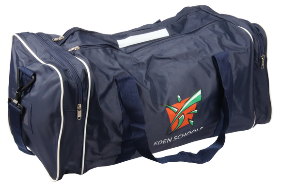 Eden College Barrel Bag- School