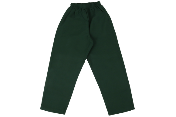 Elasticated Plain Pants - Bottle