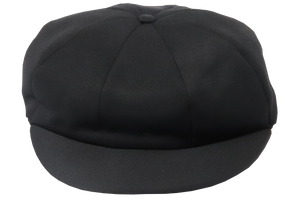 Cricket Cap Plain - Black