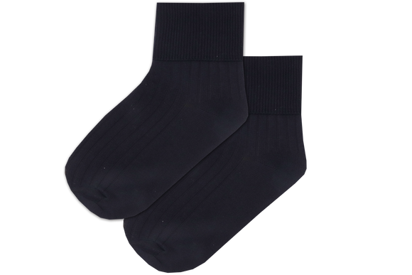Boys / Girls Anklet Spun Socks - Navy