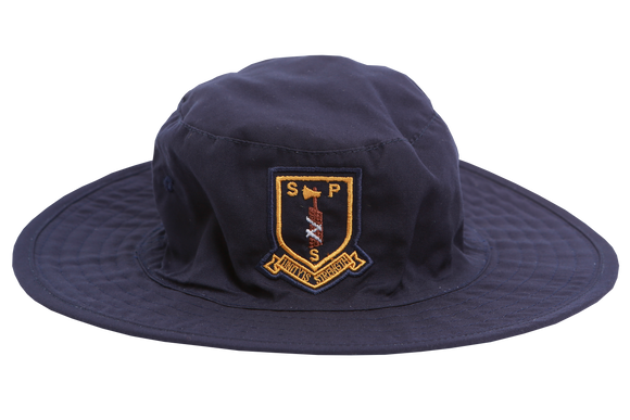 Floppy Hat Navy Emb - Sarnia Primary