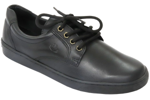 Froggies Lace Up School Shoes - Black