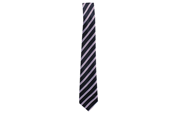 Striped Tie - Burnwood