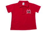 Golf Shirt Red EMB - Mt Edgecombe Private (Grade RR)