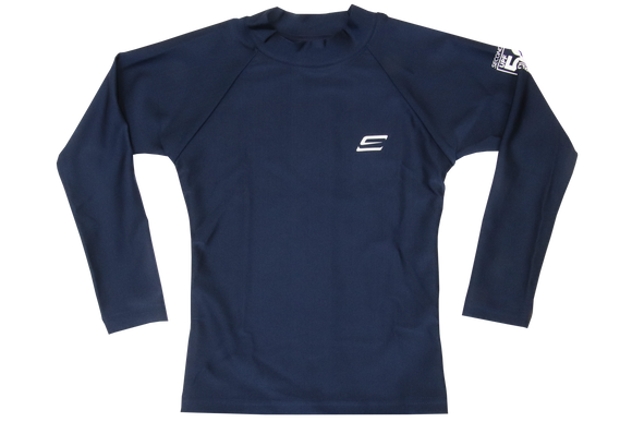 Second Skins-Rash Vest-Long Sleeve- Navy