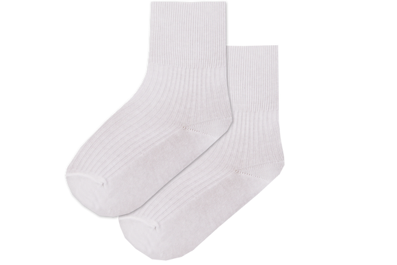 Socks Girls Anklets - White
