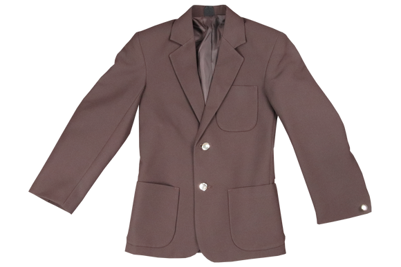 Gents Plain Blazer - Brown