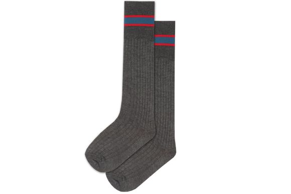Boys 3/4 Striped Long Socks - Berea West