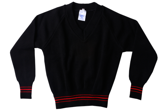 Longsleeve Striped Jersey - Maris Stella Black/Red