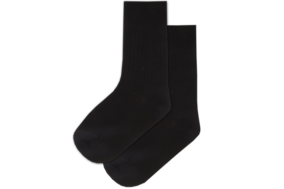 Boys Anklet Socks - Black