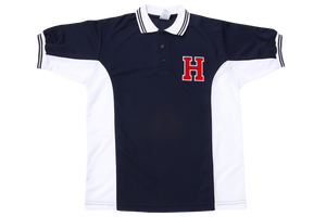 Golf Shirt Moisture Management Emb - Hamptons High Friday Uniform