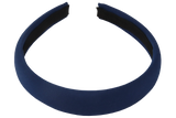 Padded Alice Band Navy1